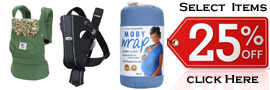 25 Off Baby Carriers