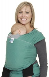 Moby Wrap Green Baby Carrier