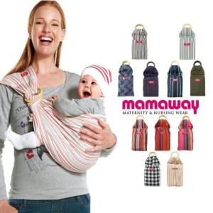 Mom Away Ring Sling Baby Carrier