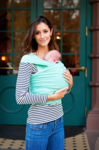 Happy Wrap Baby Carrier In Teal