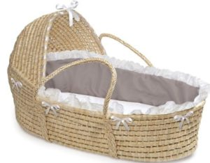 Natural Hooded Basket