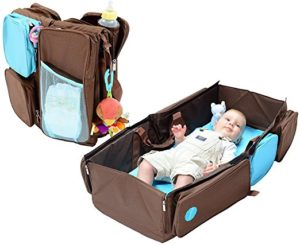 Baby Carrier and Changing Pad In One