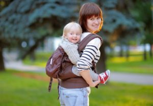 babywearing toddler